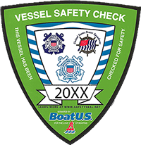 USCGAUX Vessel Examination Decal