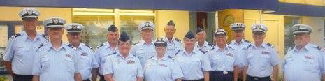 Group picture of all the Staff Officers for the Flotilla